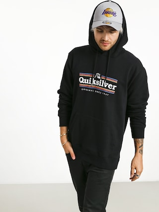 Bluza z kapturem Quiksilver Get Buzzy Screen Fleece HD (black)