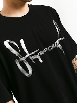 T-shirt Stoprocent Chromtag (black)