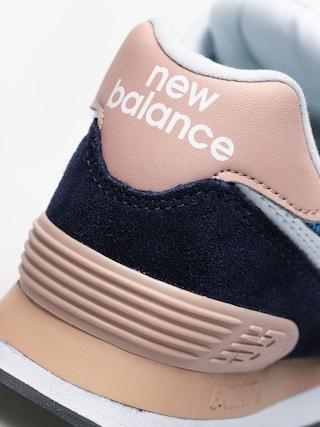Buty New Balance 574 Wmn (navy/pink)