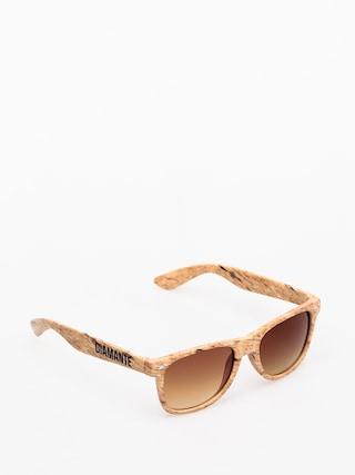 Okulary przeciwsu0142oneczne Diamante Wear Woody (beige)