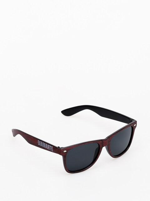 Okulary przeciwsłoneczne Diamante Wear Woody (burgundy)