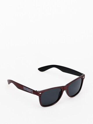 Okulary przeciwsu0142oneczne Diamante Wear Woody (burgundy)