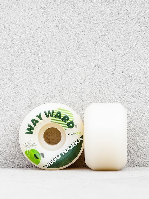Kółka Wayward Diego Najera (white/green)