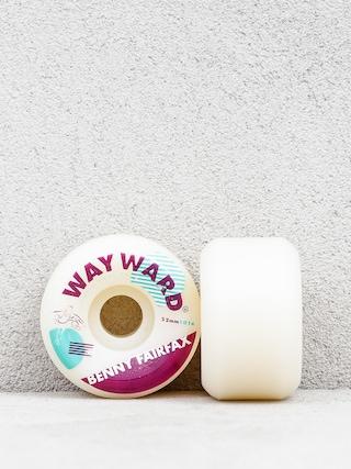 Kółka Wayward Benny Fairfay (white/burgundy)