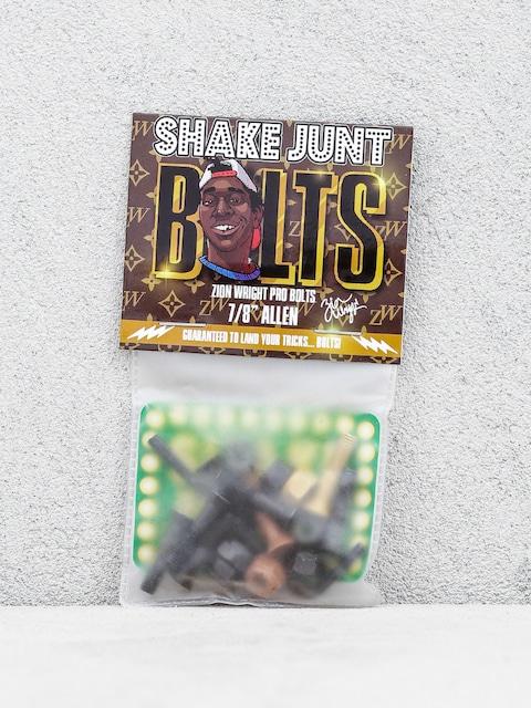Montażówki Shake Junt Zion Wright Pro Bolts Allen (black/brown/gold)