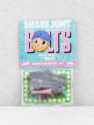 Montażówki Shake Junt Jamie Foy Pro Bolts (black/pink/teal)