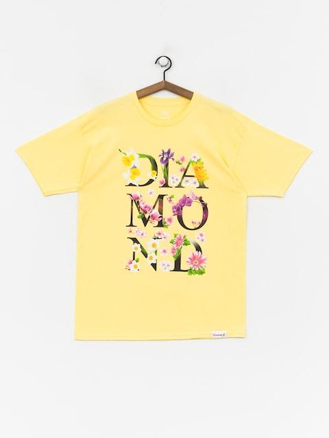 T-shirt Diamond Supply Co. Botanical (banana)