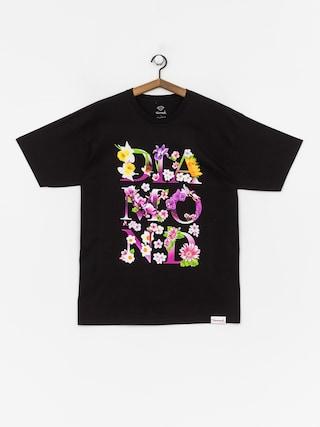 T-shirt Diamond Supply Co. Botanical (black)