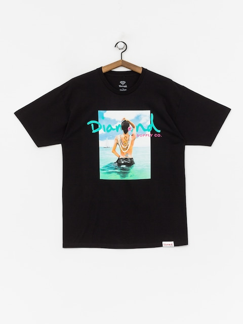 T-shirt Diamond Supply Co. Waist Deep (black)