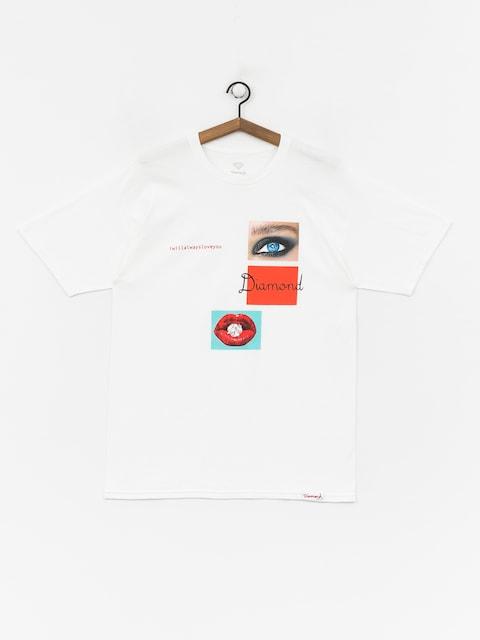 T-shirt Diamond Supply Co. I Will Always (white)