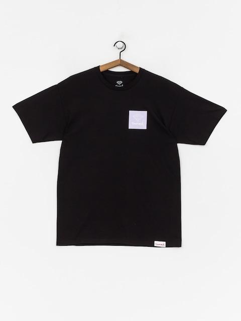 T-shirt Diamond Supply Co. Mini Og Sign (black/purple)