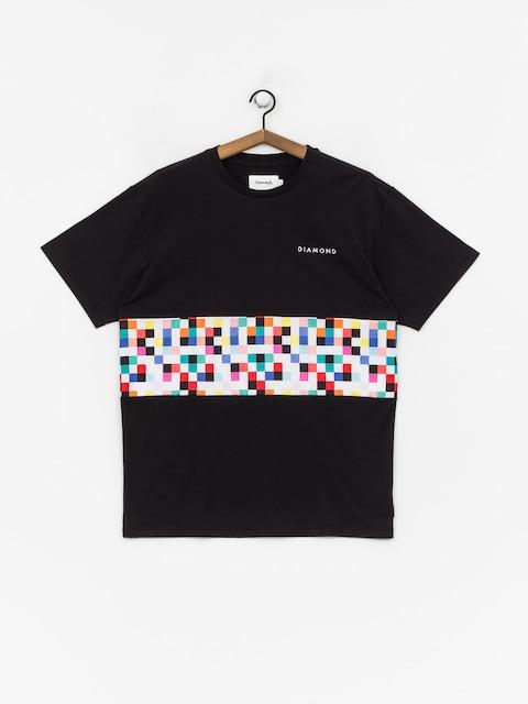 T-shirt Diamond Supply Co. Pixel Panel (black)