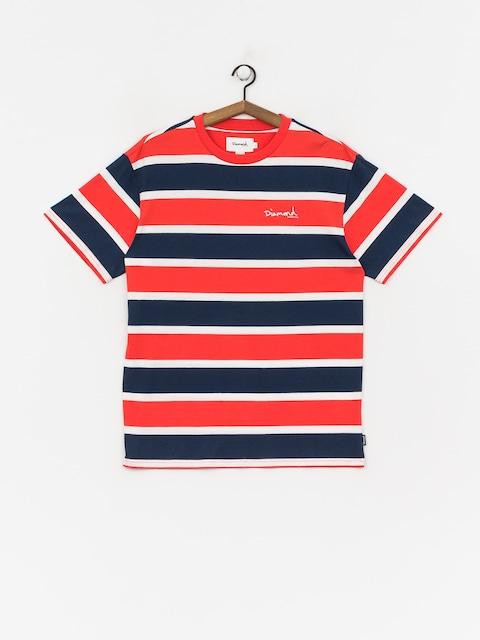 T-shirt Diamond Supply Co. Mini Og Script Striped