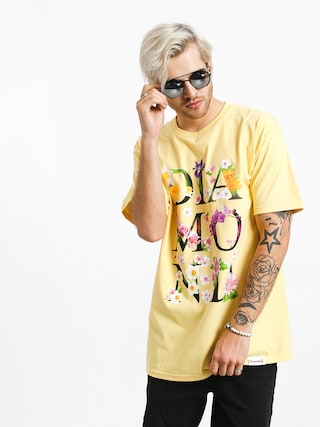 T-shirt Diamond Supply Co. Botanical (banana)