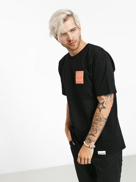 T-shirt Diamond Supply Co. Mini Og Sign (black/orange)