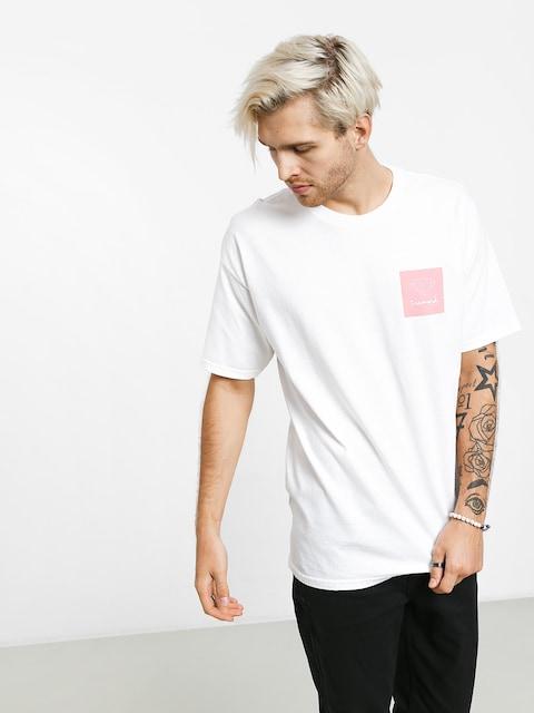 T-shirt Diamond Supply Co. Mini Og Sign (white/pink)