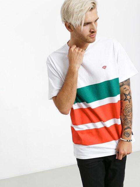 T-shirt Diamond Supply Co. Brilliant Patch Striped