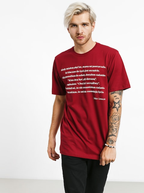 T-shirt Diamante Wear Jonh (burgundy)