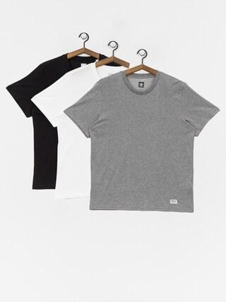 T-shirt adidas New 3 Pck (core heather/white/black)