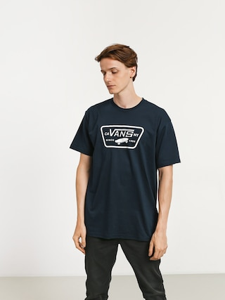 T-shirt Vans Full Patch (navy/white)