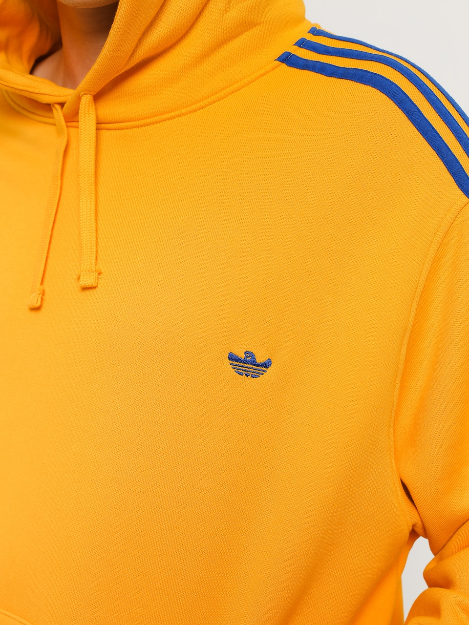 Bluza z kapturem adidas Mini Shmoo HD (active goldcollegiate royal)