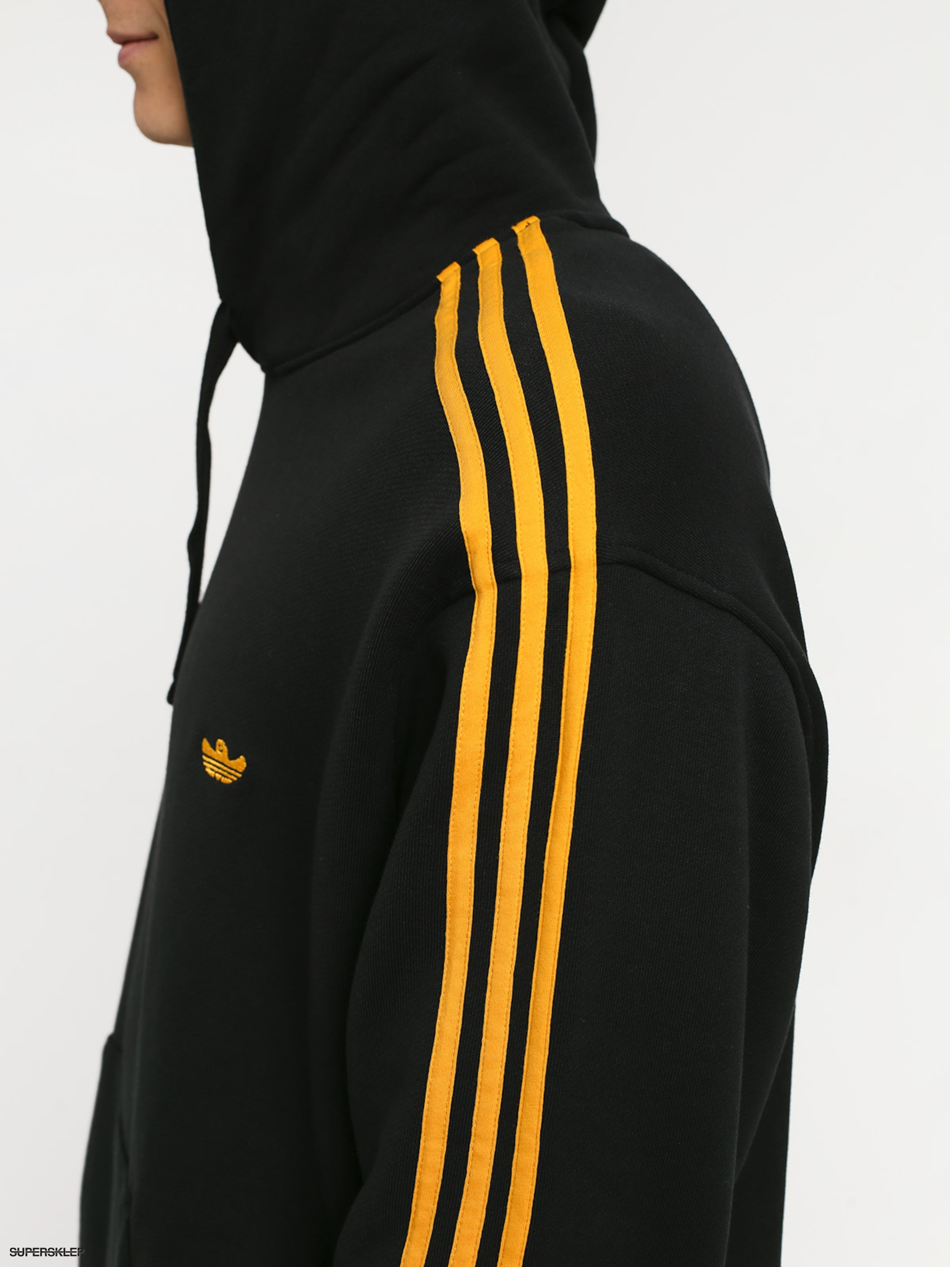 Bluza z kapturem adidas Mini Shmoo HD (blackactive gold)