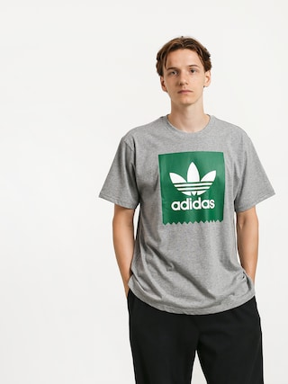 T-shirt adidas Solid Bb (core heather/bold green)