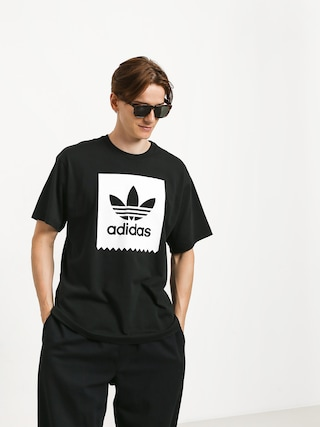 T-shirt adidas Solid Bb (black/white)