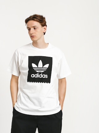 T-shirt adidas Solid Bb (white/black)