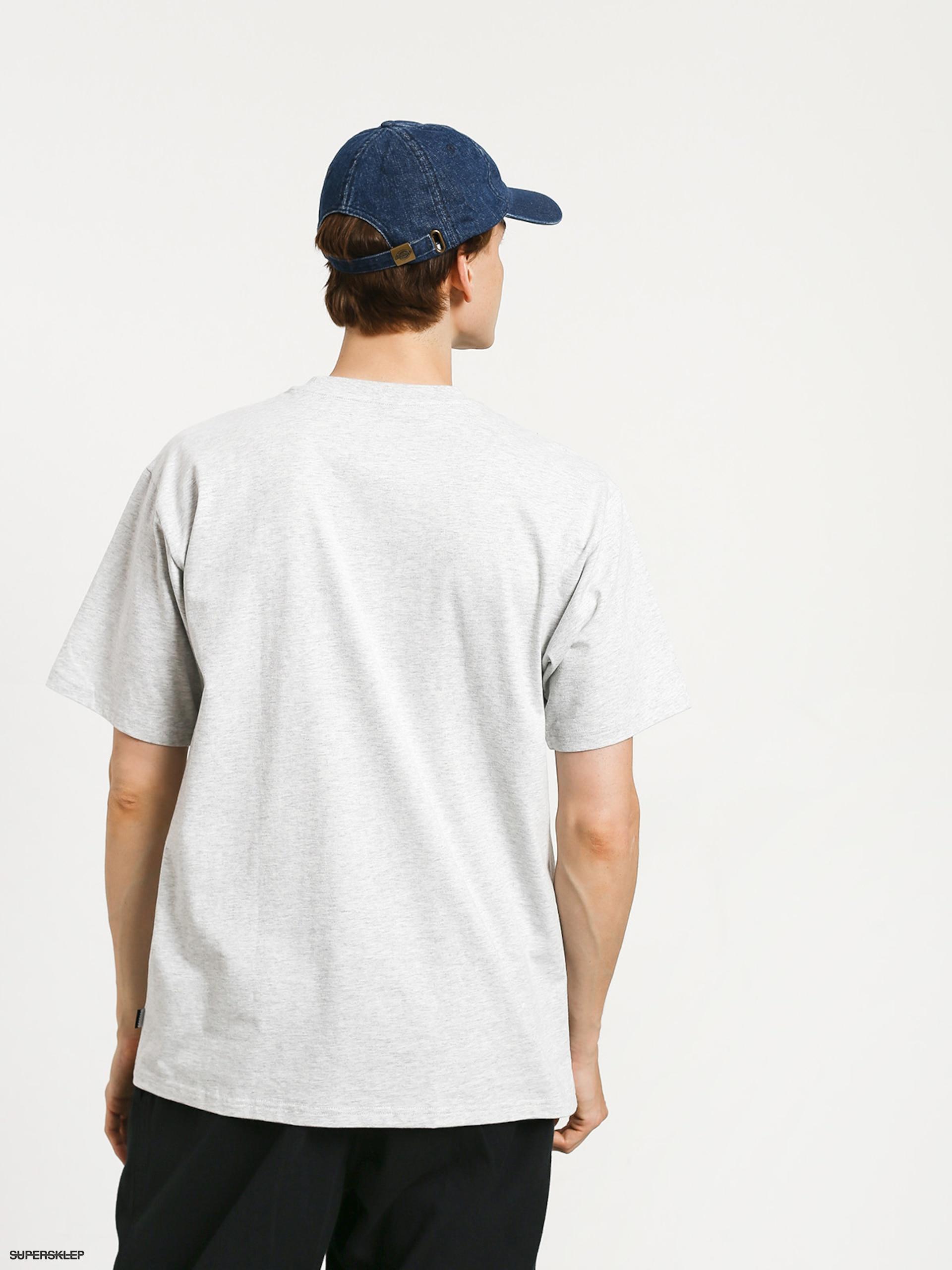 T shirt adidas Bb Print 1 (light grey heatherblackcollegiate navywhite)