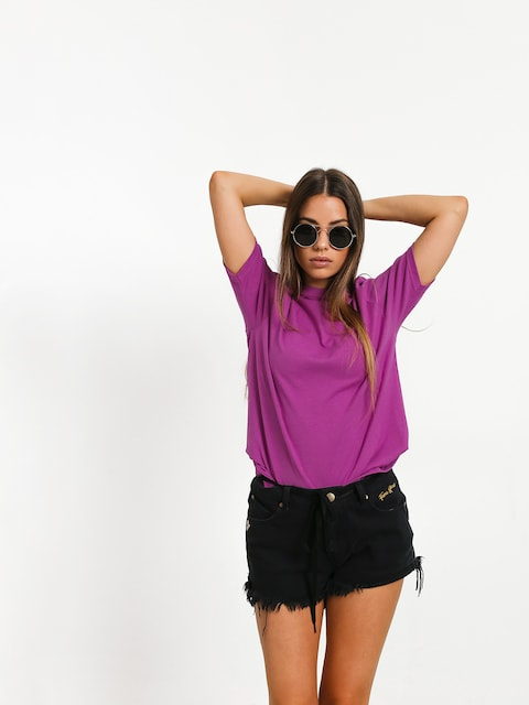 T-shirt Stussy Stock Wmn (berry)