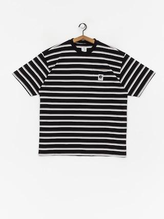 T-shirt Polar Skate Stripe Pocket (black)