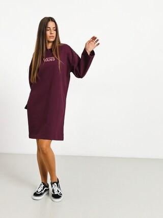 Sukienka Vans Chromo II Wmn (prune)