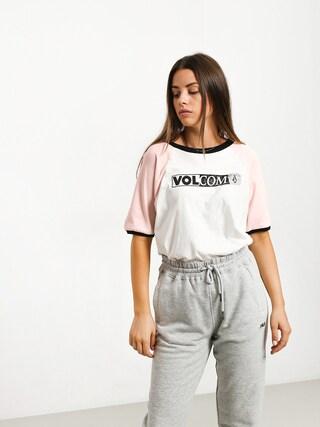T-shirt Volcom Volstone Ringer Wmn (wht)