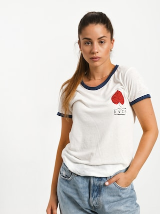 T-shirt RVCA Foliage (vintage white)
