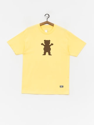 T-shirt Grizzly Griptape Og Bear (banana)