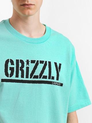 T-shirt Grizzly Griptape Stamp (miny/black)