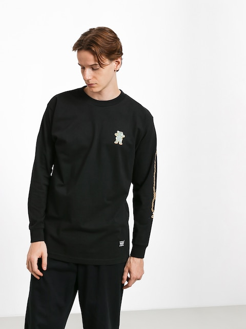 Longsleeve Grizzly Griptape Chain (black)