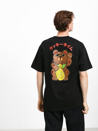 T-shirt Grizzly Griptape Lucky Bear Pocket (black)