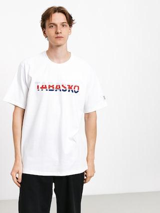 T-shirt Tabasko Tag Split (white)