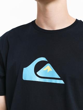 T-shirt Quiksilver Comp Logo (sky captain)