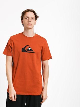 T-shirt Quiksilver Comp Logo (burnt brick)