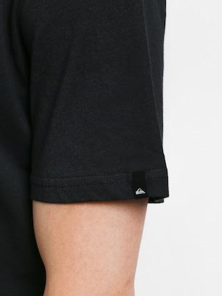 T-shirt Quiksilver Comp Logo (black)