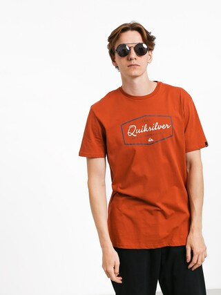 T-shirt Quiksilver Inside Lines (burnt brick)