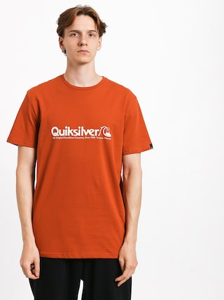 T-shirt Quiksilver Modern Legends (burnt brick)