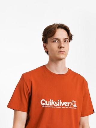 T-shirt Quiksilver Modern Legends (burnt brick)
