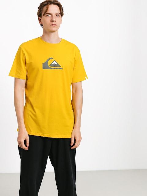 T-shirt Quiksilver Comp Logo (sulphur)