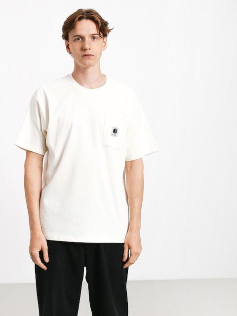 T-shirt Polar Skate Pocket (ivory)