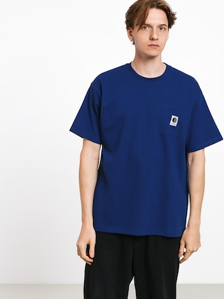 T-shirt Polar Skate Pocket (dark blue)