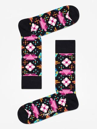 Skarpetki Happy Socks Temple Blossom (black/multi)